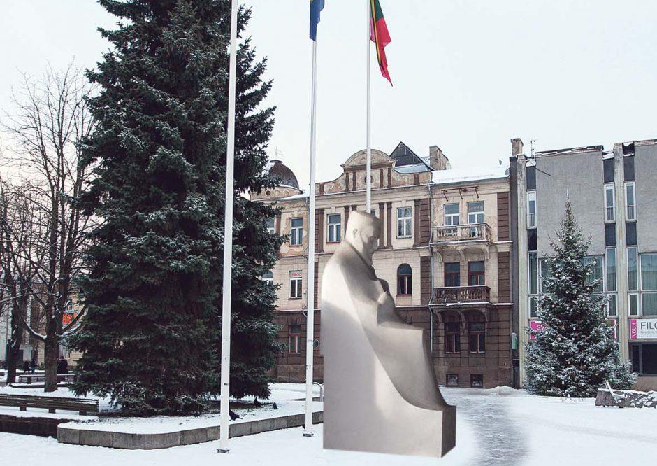 J. Jablonskio skulptūros neįsiūlė kitiems, pastatys Kaune?