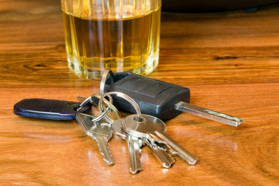 Dar dviem neblaiviems vairuotojams gresia kalėjimas