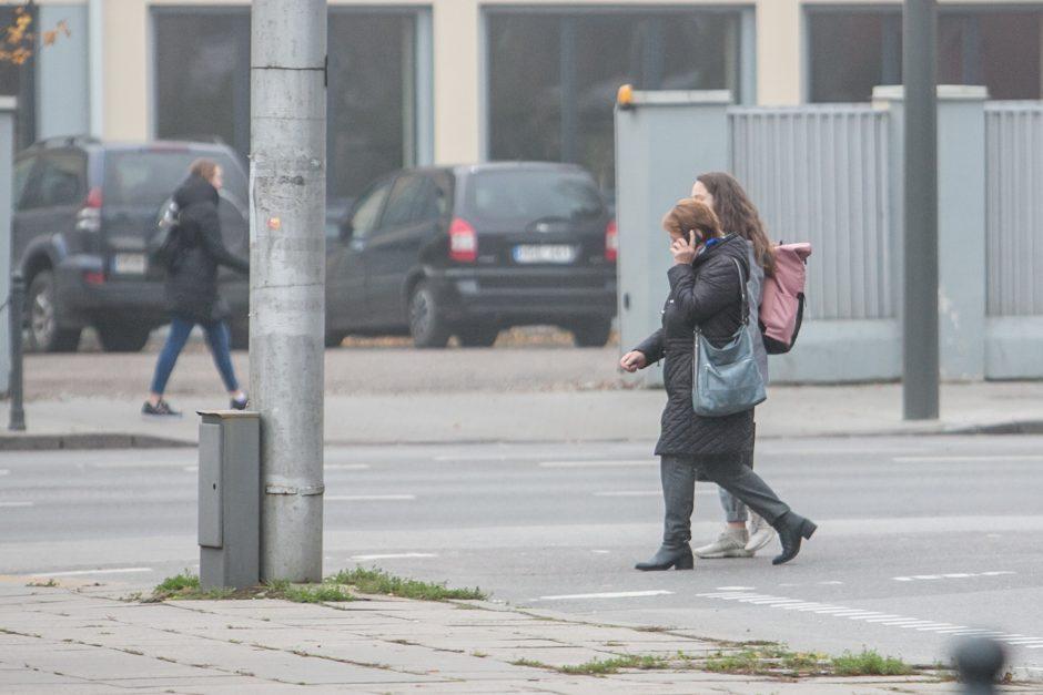 Pėsčiųjų drausminimui skirtas reidas Kaune