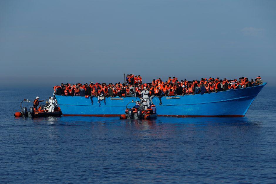 Ispanai išgelbėjo 125 naktį per jūrą bandžiusius persikelti migrantus