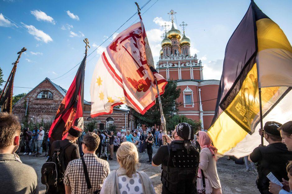 Rusijoje nesiliauja protestai dėl filmo apie caro Nikolajaus romaną