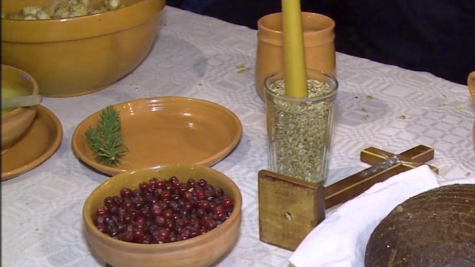 Kūčių ir Kalėdų tradicijos atgimė Liaudies buities muziejuje