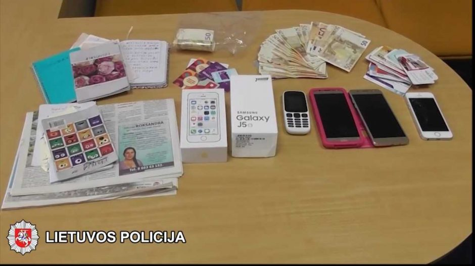 Sulaikyta magišką pagalbą žadėjusi ir tūkstančius eurų išviliojusi rumunė