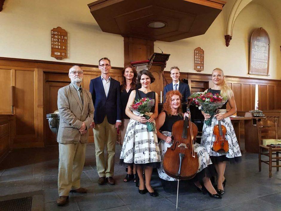 Kauno fortepijoninis trio koncertavo Nyderlanduose