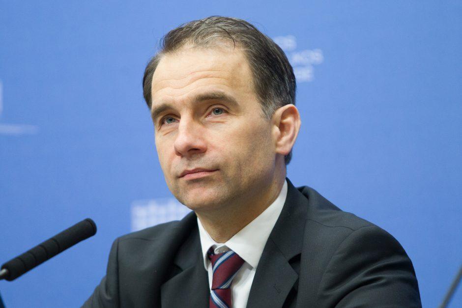 Švietimo ministerijai laikinai vadovaus susisiekimo ministras R. Masiulis