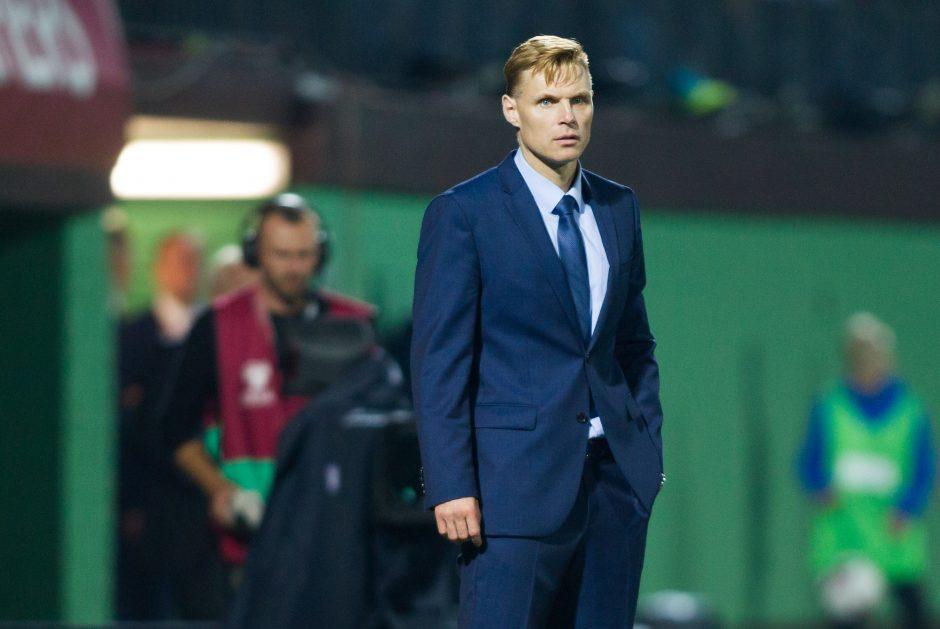 Futbolo rinktinės metų aptarime – palaikymas E. Jankauskui