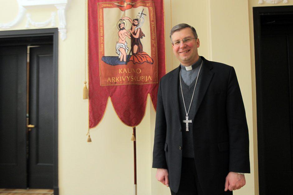 Kauno vyskupas K. Kėvalas kraustysis į Žemaitiją