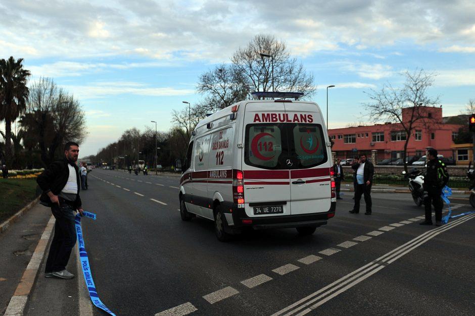 Turkijoje per autobuso avariją nukentėjo mažiausiai 17 ukrainiečių turistų