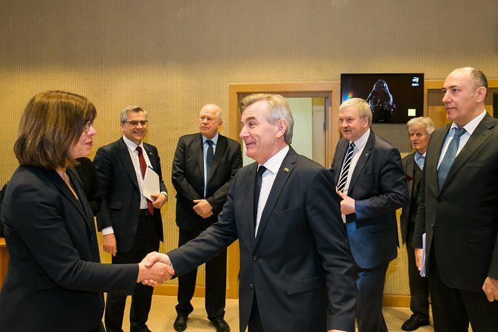 Vokietijos atstovė: Lietuvos sprendimas dėl Astravo AE turės atgarsį Briuselyje