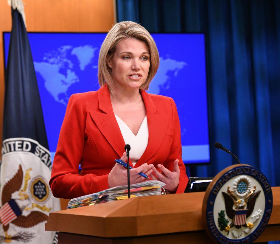 D. Trumpas paskyrė naują generalinį prokurorą ir ambasadorę prie JT