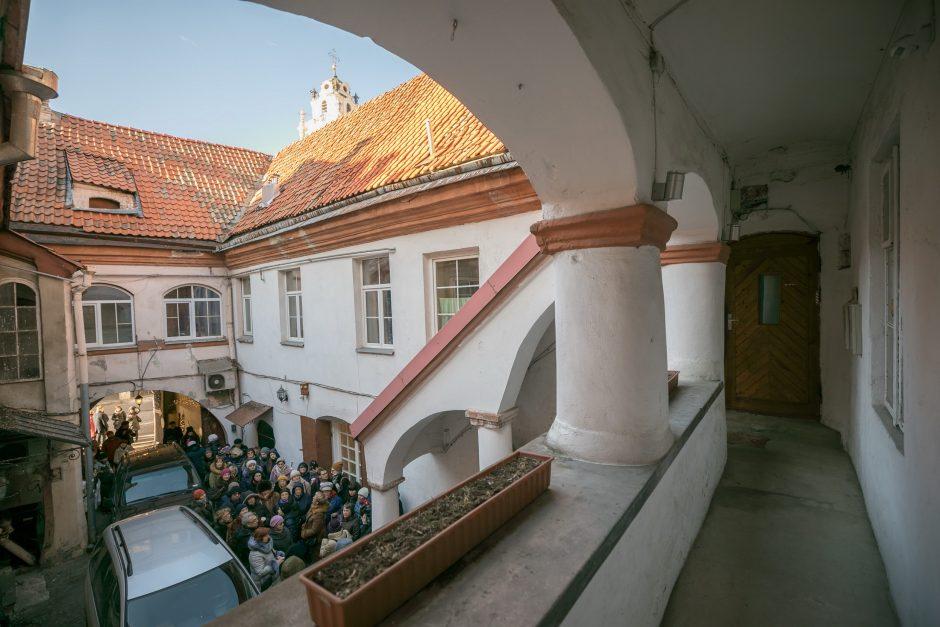 Atvirų kiemelių iniciatyvos atidarymas Vilniuje