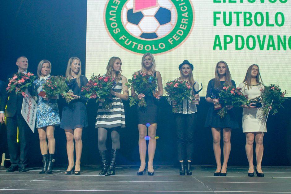 Išdalinti 2014 metų futbolo sezono apdovanojimai