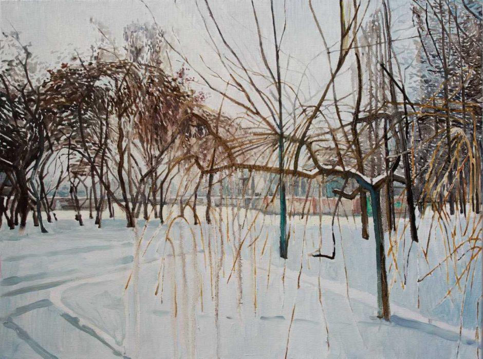 """Klaipėdoje – Mykolės tapybos paroda """"Gamtovaizdis"""""""