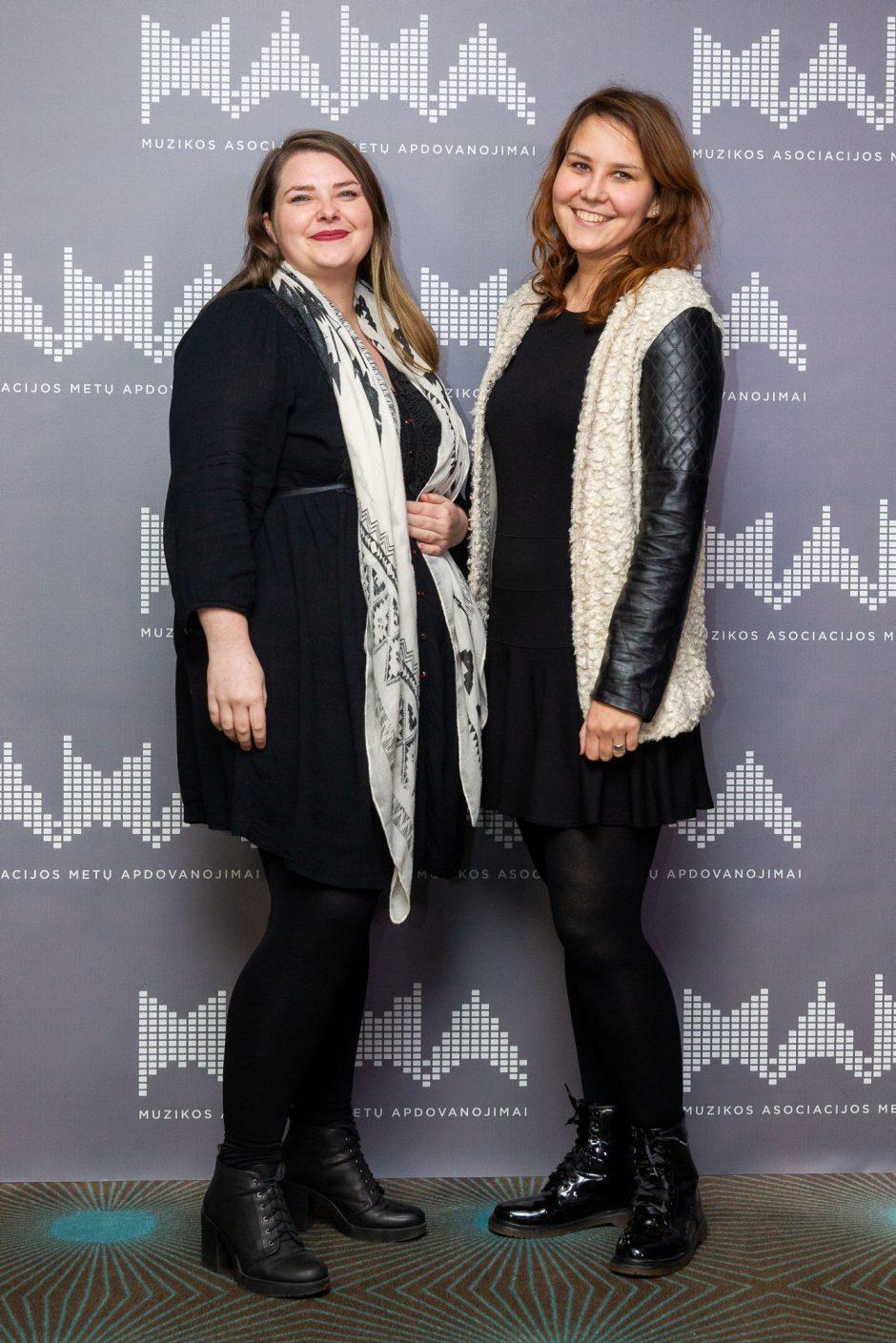 Paskelbti M.A.M.A 2018 nominantai