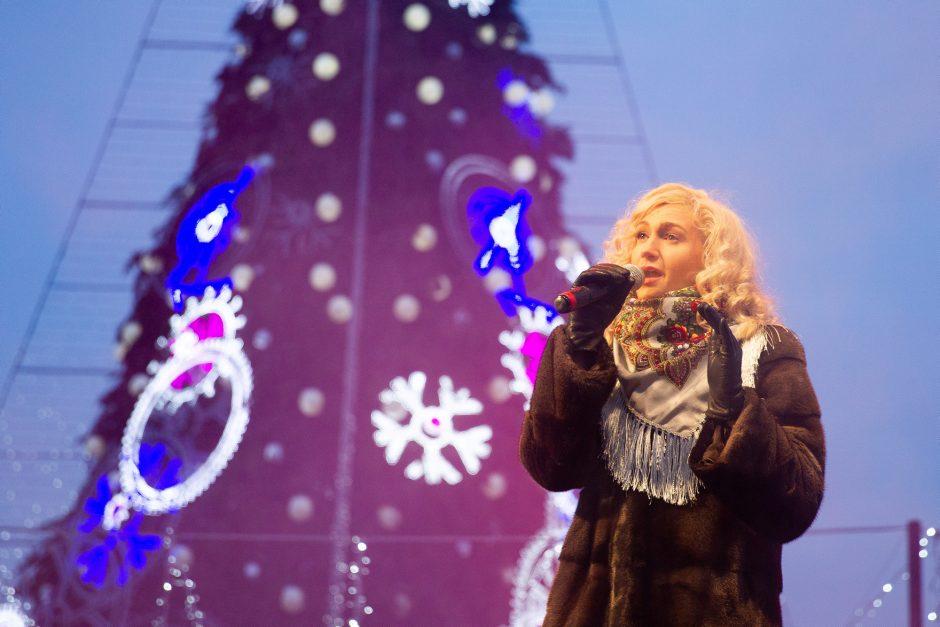 Sostinės centre – linksma Stačiatikių Kalėdų šventė