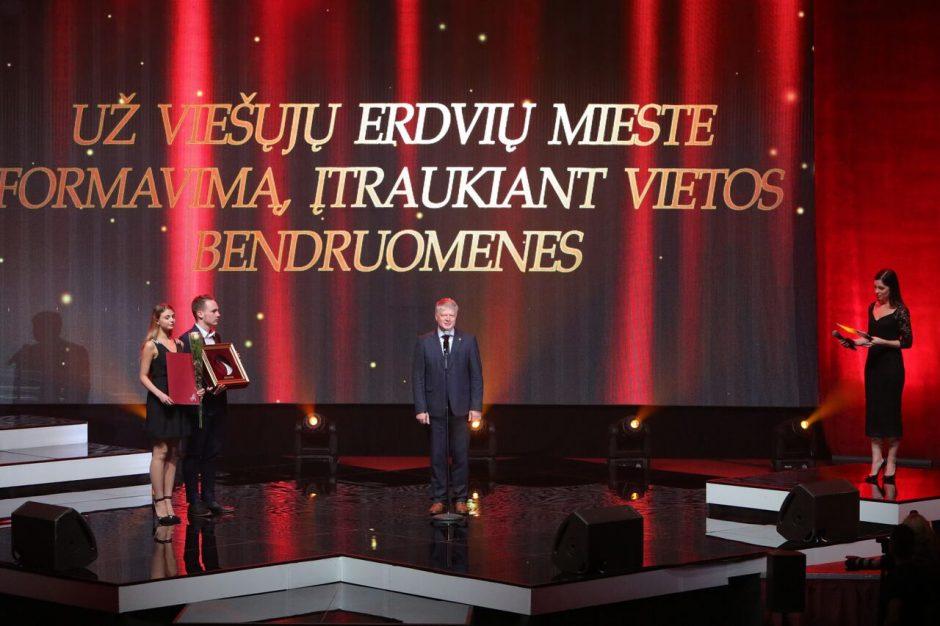 """""""Auksinės krivūlės"""" apdovanojimai"""