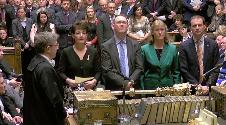 "JK parlamentarai pritarė galimybei atidėti ""Brexit"""