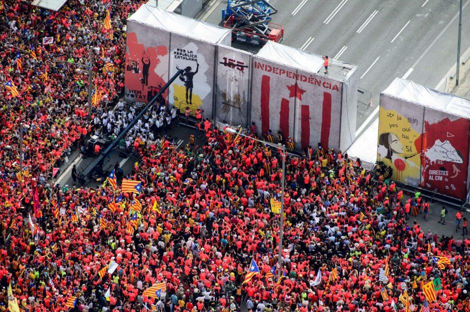 Tradicinės eitynės Barselonoje