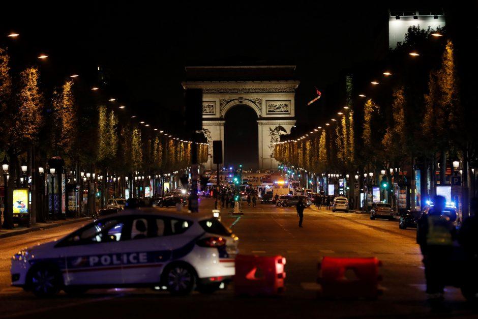Kruvinas išpuolis Paryžiaus centre