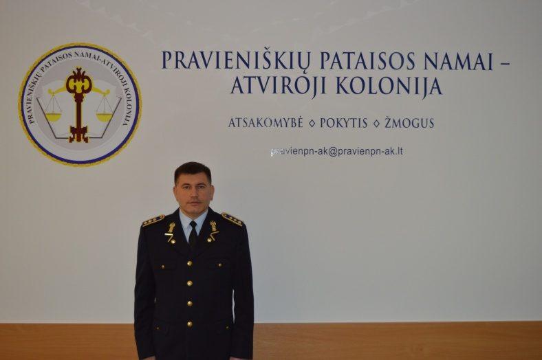 Atleistas Pravieniškių pataisos namų-atvirosios kolonijos direktorius V. Ceslevičius