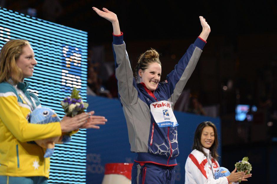 Planetos plaukimo čempionate  trečiadienį auksas atiteko PAR, JAV ir Kinijos sportininkams