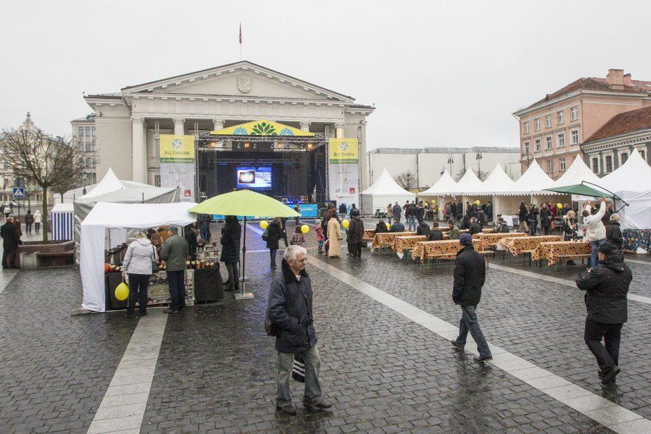 Vilniuje įsikūrė Ukrainos miestelis