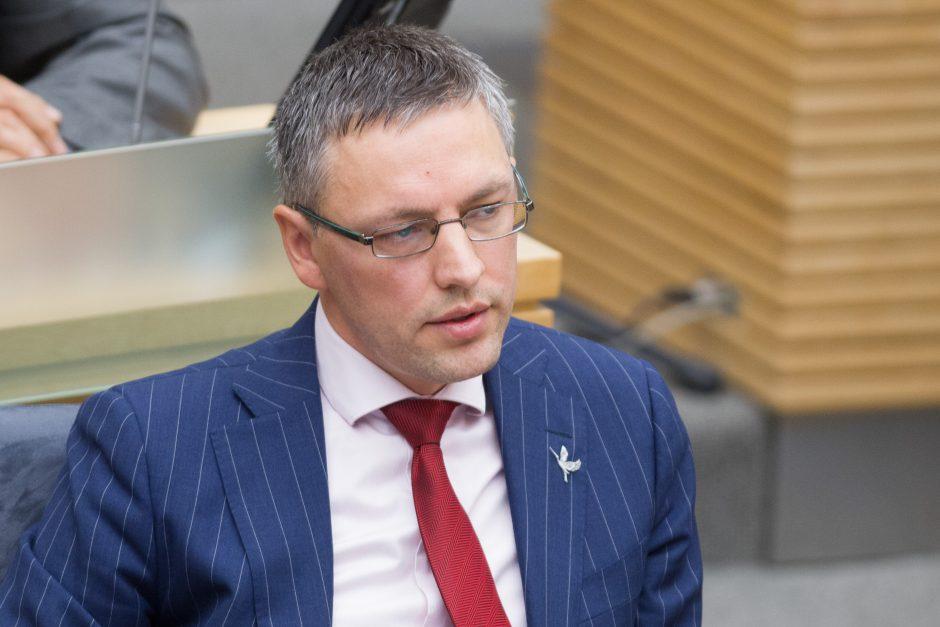 V. Bakas siūlys 4 mln. eurų padidinti VSD finansavimą