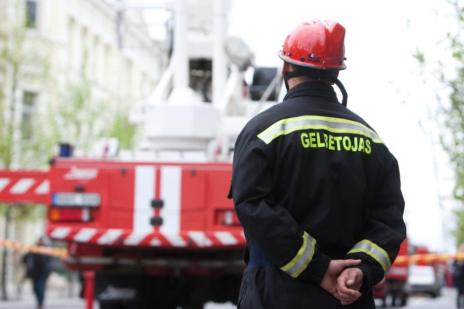 Savaitgalį ugniagesiai gelbėjo į nelaimę patekusius vaikus