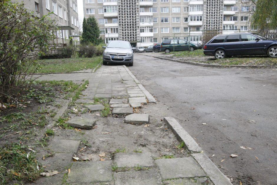 Klaipėdos mikrorajonai skundžiasi dėmesio stoka