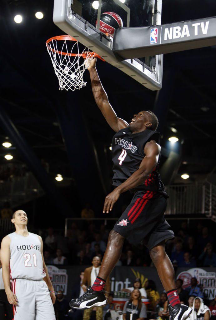 U. Boltas negali nebėgioti