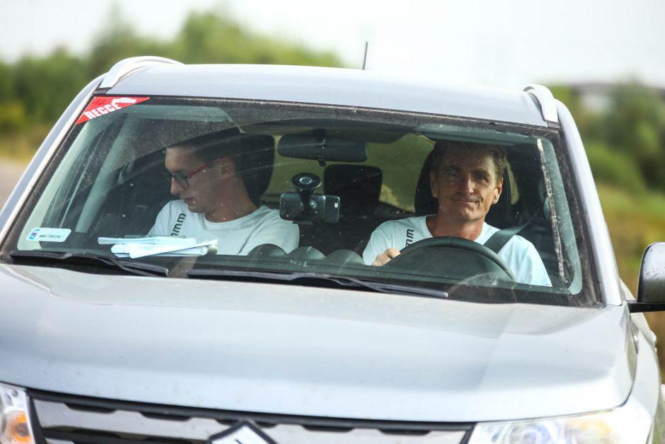 """""""Rally Elektrėnai 2018"""" greičio ruožai sužavėjo lenkus"""