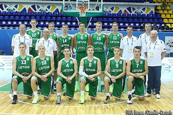 Šešiolikmečiai Lietuvos krepšininkai Europos pirmenybėse nusileido vokiečiams