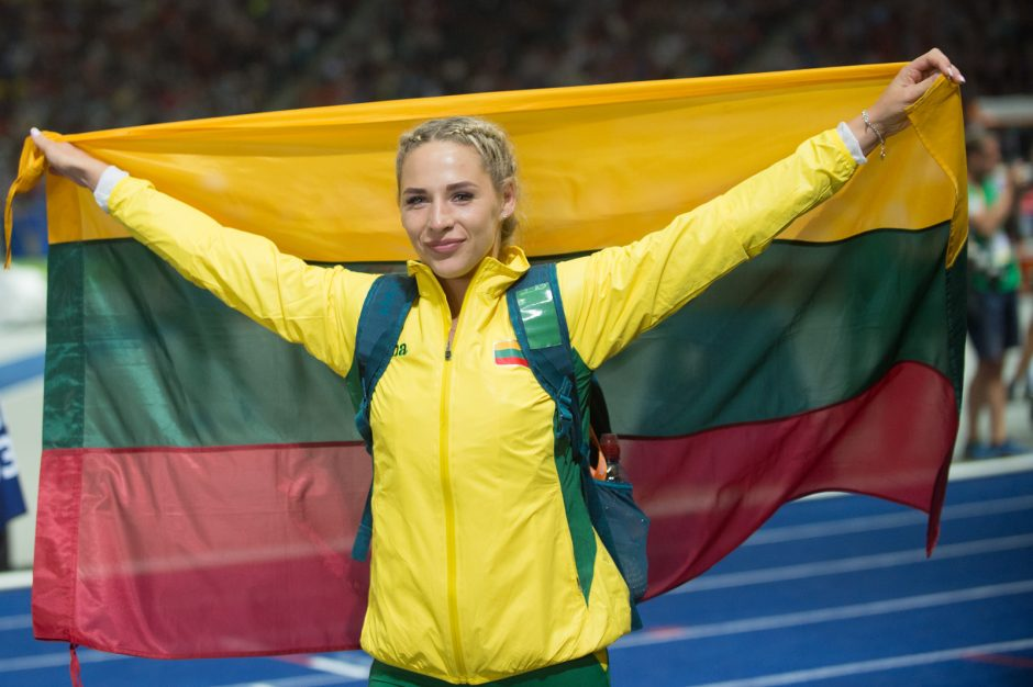 Ieties metikei L. Jasiūnaitei – Europos čempionato bronzos medalis!