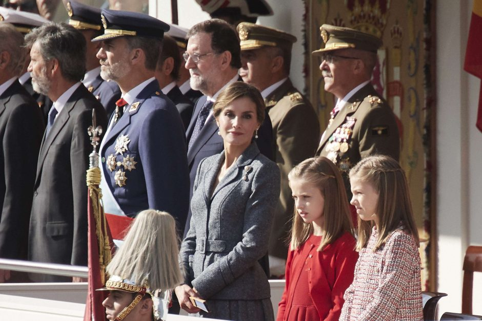 Ispanija švenčia Valstybės dieną ir rodo vienybę Katalonijos krizės šešėlyje