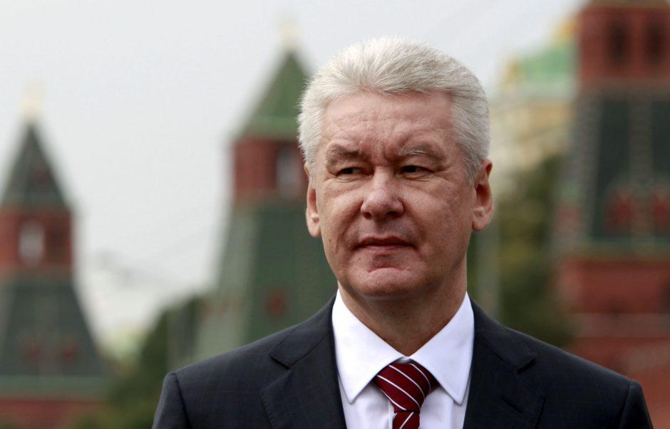 V. Putino sąjungininkui prognozuojama lengva pergalė Maskvos mero rinkimuose