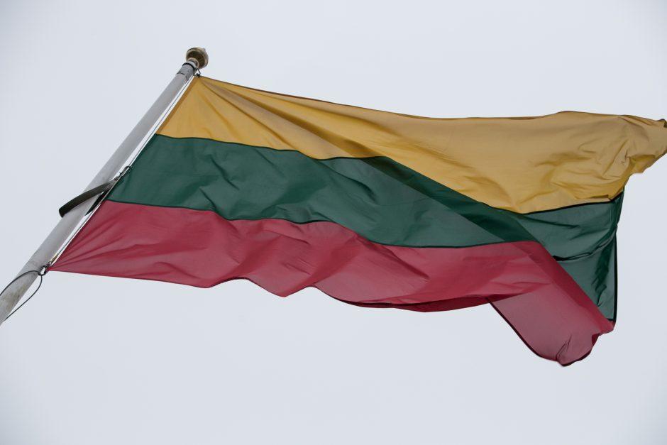 Pasvalio rajono gyventojas pranešė apie vėliavos išniekinimą