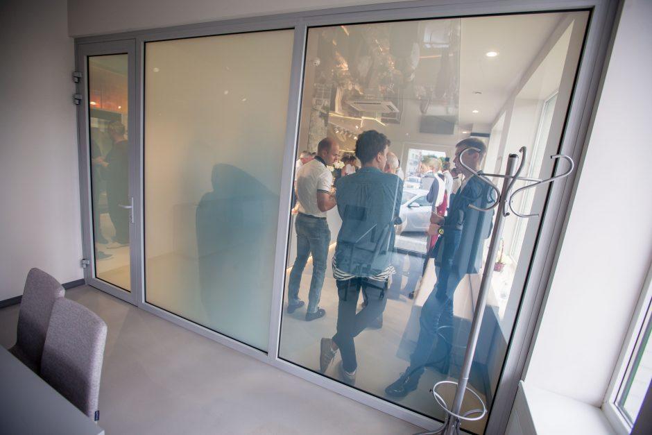 Vilijampolėje atidaryta Stiklo studija