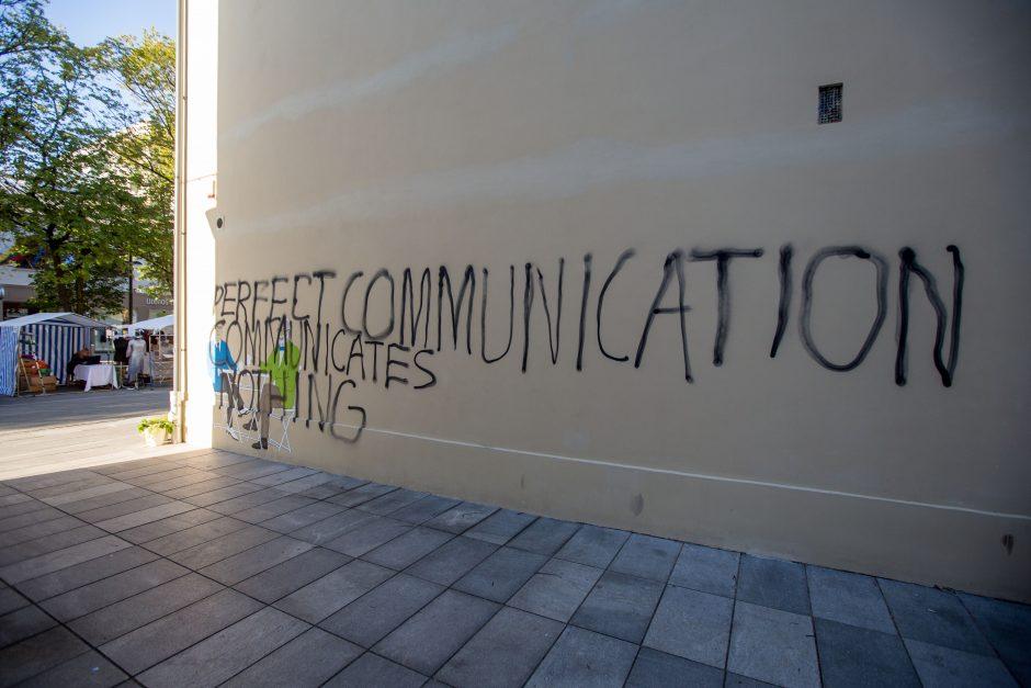 Gatvės meno herojais džiaugėmės neilgai