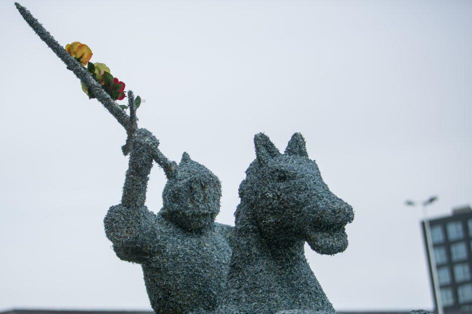 Nustebino Kaune iškilęs Vytis, jo vertė – 3 mln. litų
