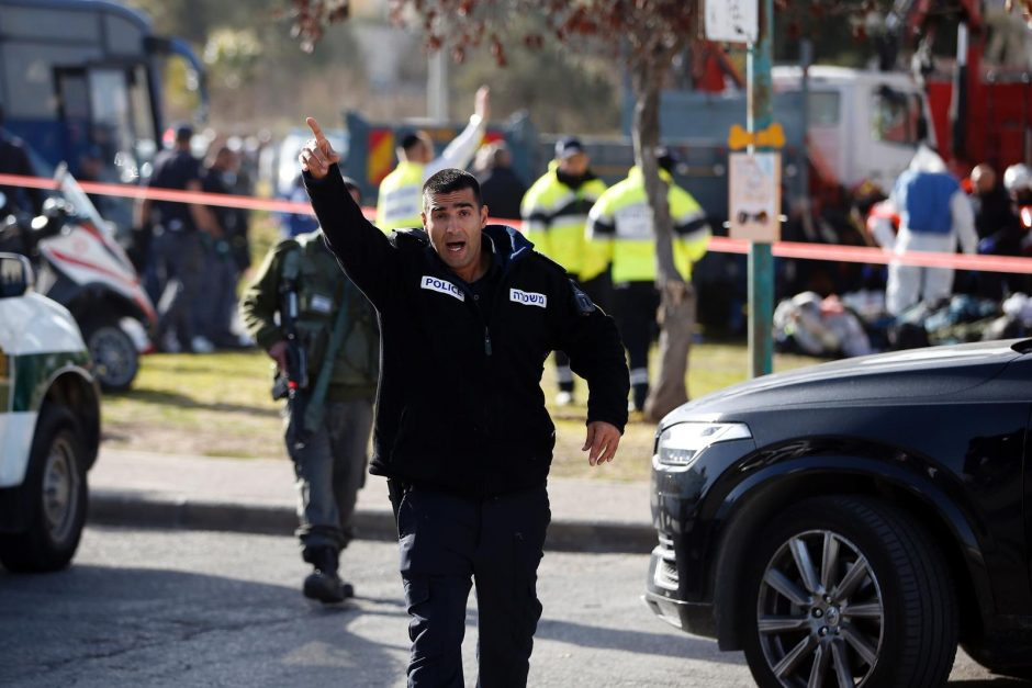 Teroro aktas Jeruzalėje