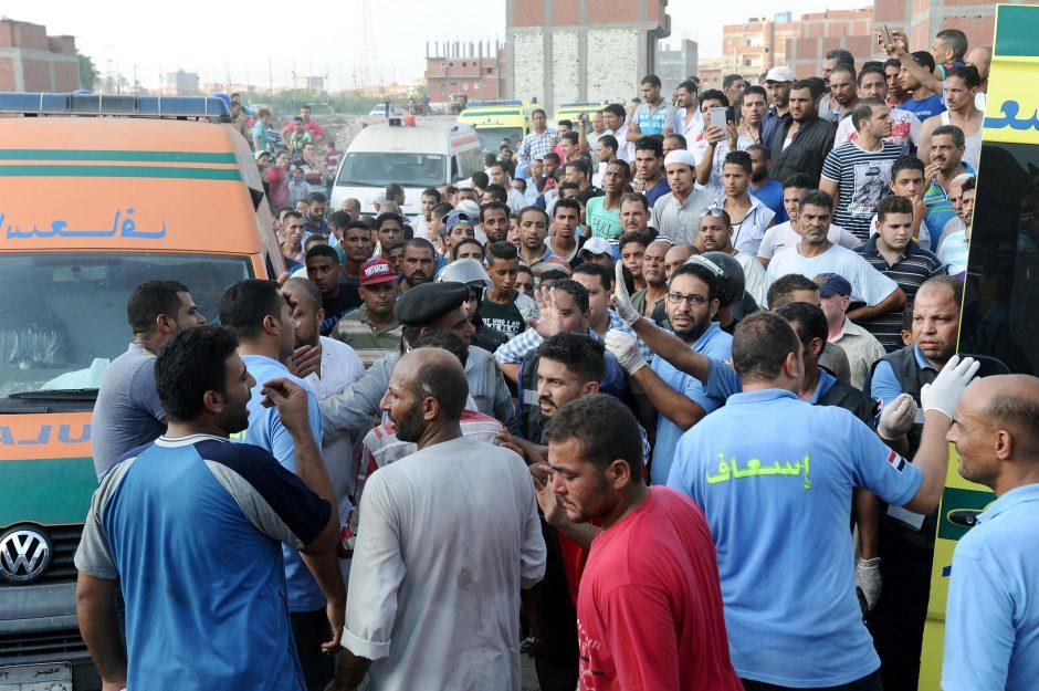Traukinių susidūrimas Egipte