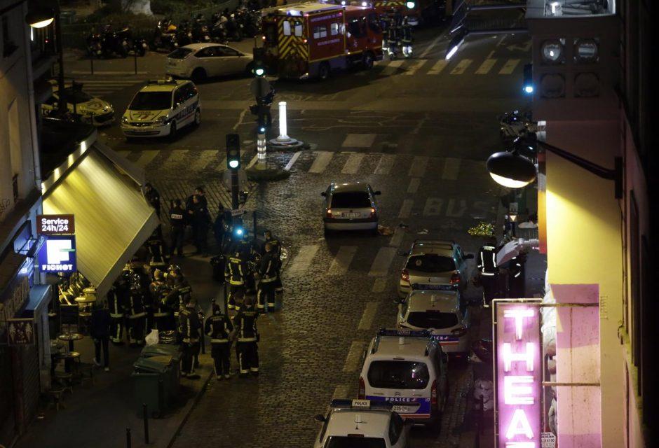 """Užpuolikai Paryžiuje naudojo sprogmenis, vadinamus """"Šėtono motina"""