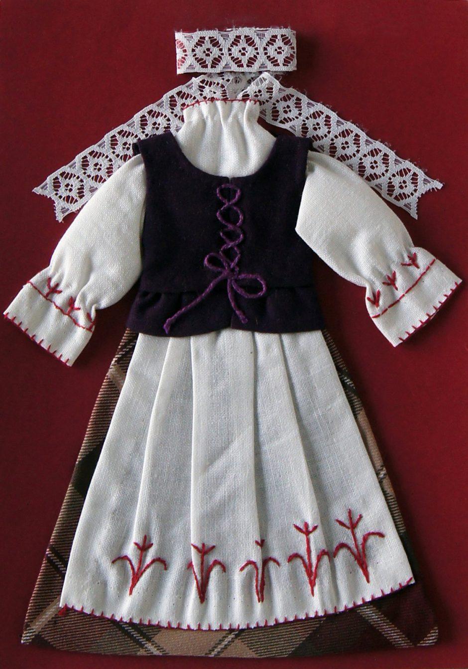 Ištyrė skirtumus: kiekviename Lietuvos regione – savitas tautinis kostiumas