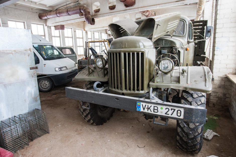 Unikaliame muziejuje – ir lietuvio sukurtas automobilis