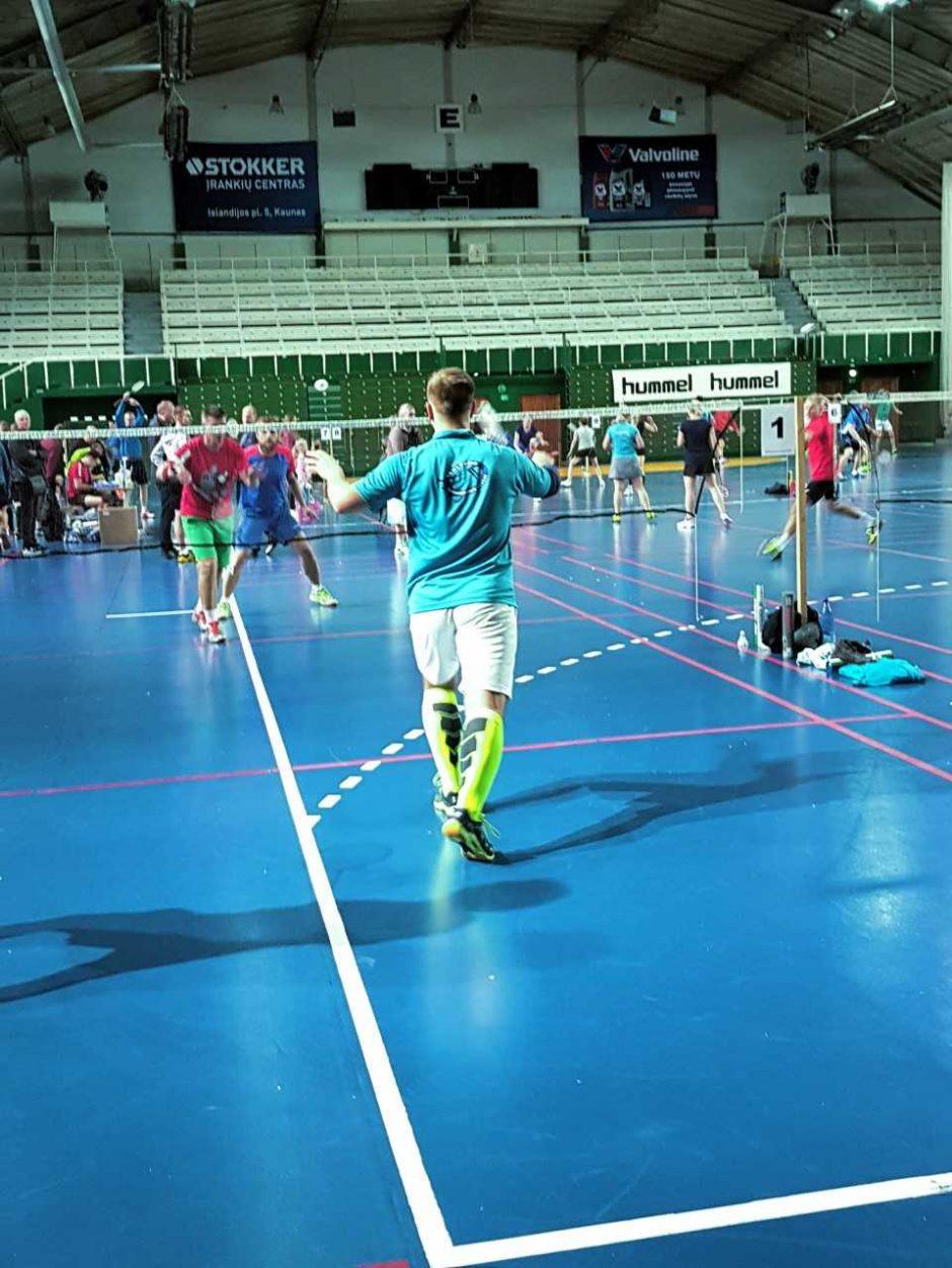 Krepšinio šventovėje karaliavo badmintonas