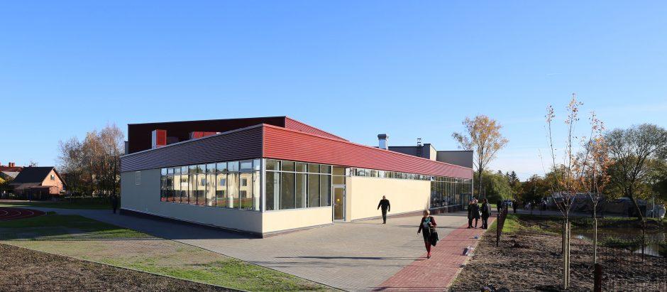 Dovana Domeikavos bendruomenei – kultūros salė