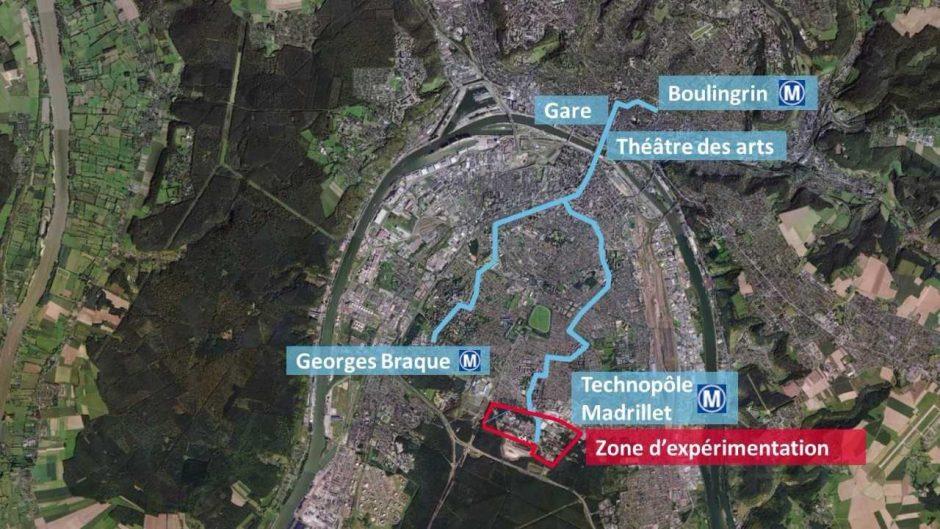 Prancūzijoje – pirmojo Europoje viešojo savavaldžio transporto bandymai
