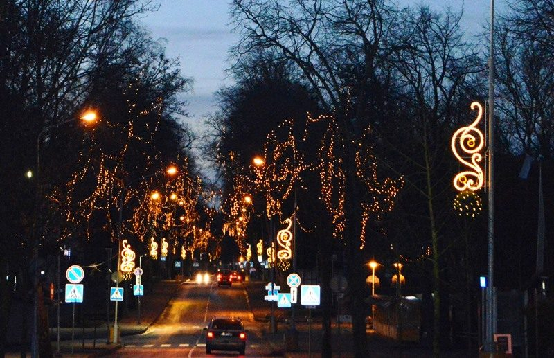 Kalėdų laukianti Palanga išskirtinai spindės bei kvepės meduoliais