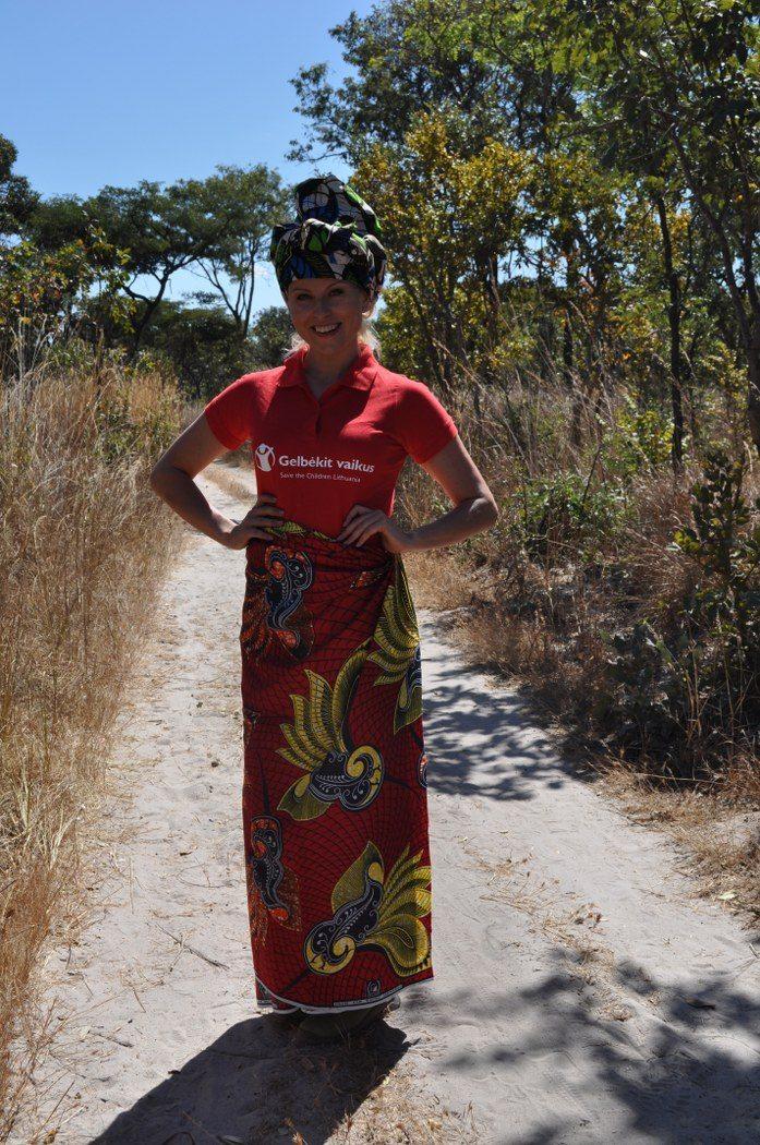R. Mikelkevičiūtė ir G. Talmantienė Zambijoje išbandė afrikietišką stilių