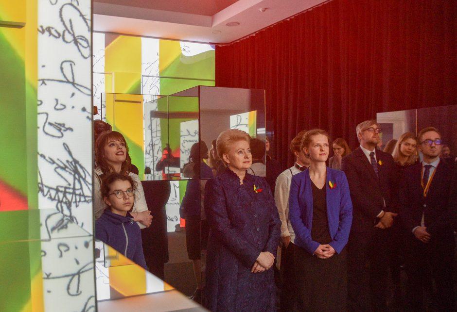 Prezidentė kviečia į interaktyvią šimtmečio kelionę